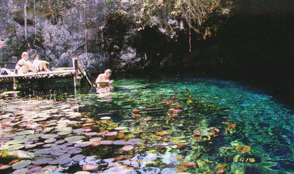 Gran Cenote near Tulum, Mexico