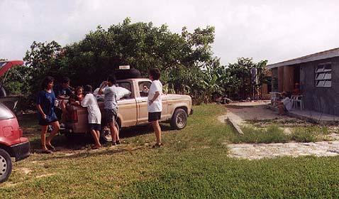 Family truck, Cartwrights, Long Islan, Bahamas