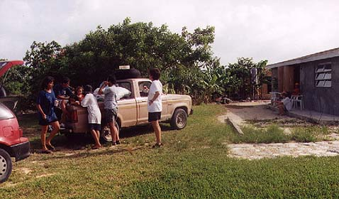 Family truck, Cartwrights, Long Islan, Bahamas
