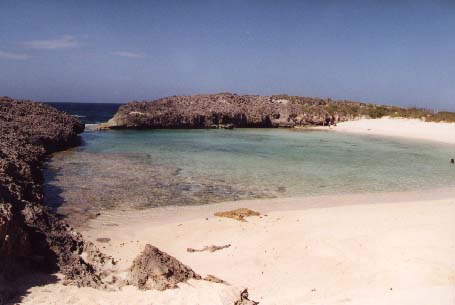 Lowes beach, Long Island, Bahamas