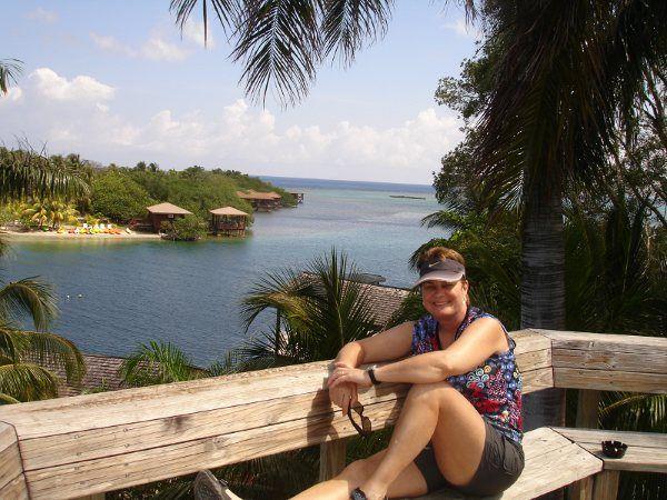 Lynn, Anthony's Key Resort, Roatan.