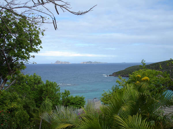 Bequia view to nearby islands