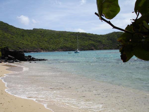 Isle a' Quarte anchorage