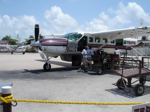 Plane to San Pedro from BZE