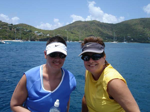 Snorkelers aboard