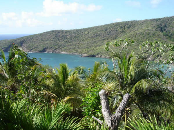 Bequia island view
