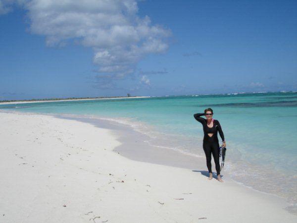 Lynn Anegada beach, BVI.
