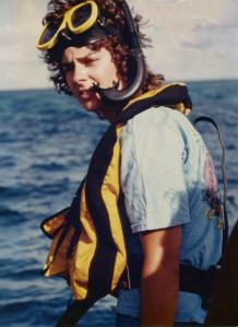 Diver Lynn, Miami, circa 1978