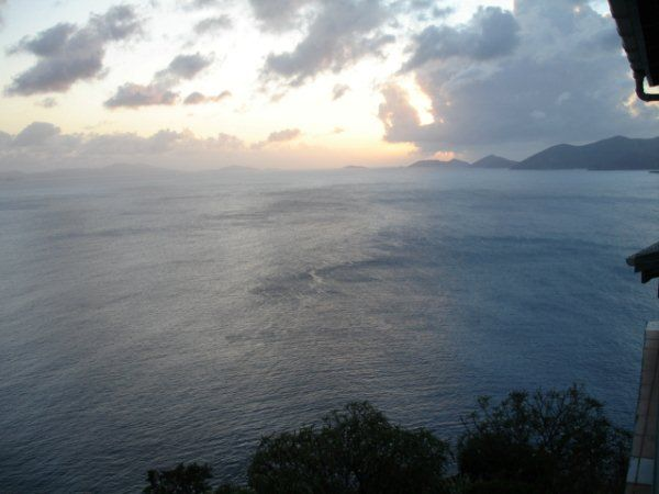 View of Jost Van Dyke island from Tortola.