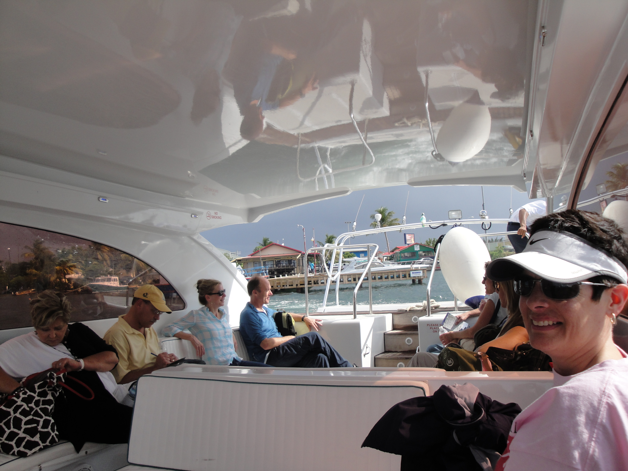 Shuttle boat from St. Martin to Anguilla
