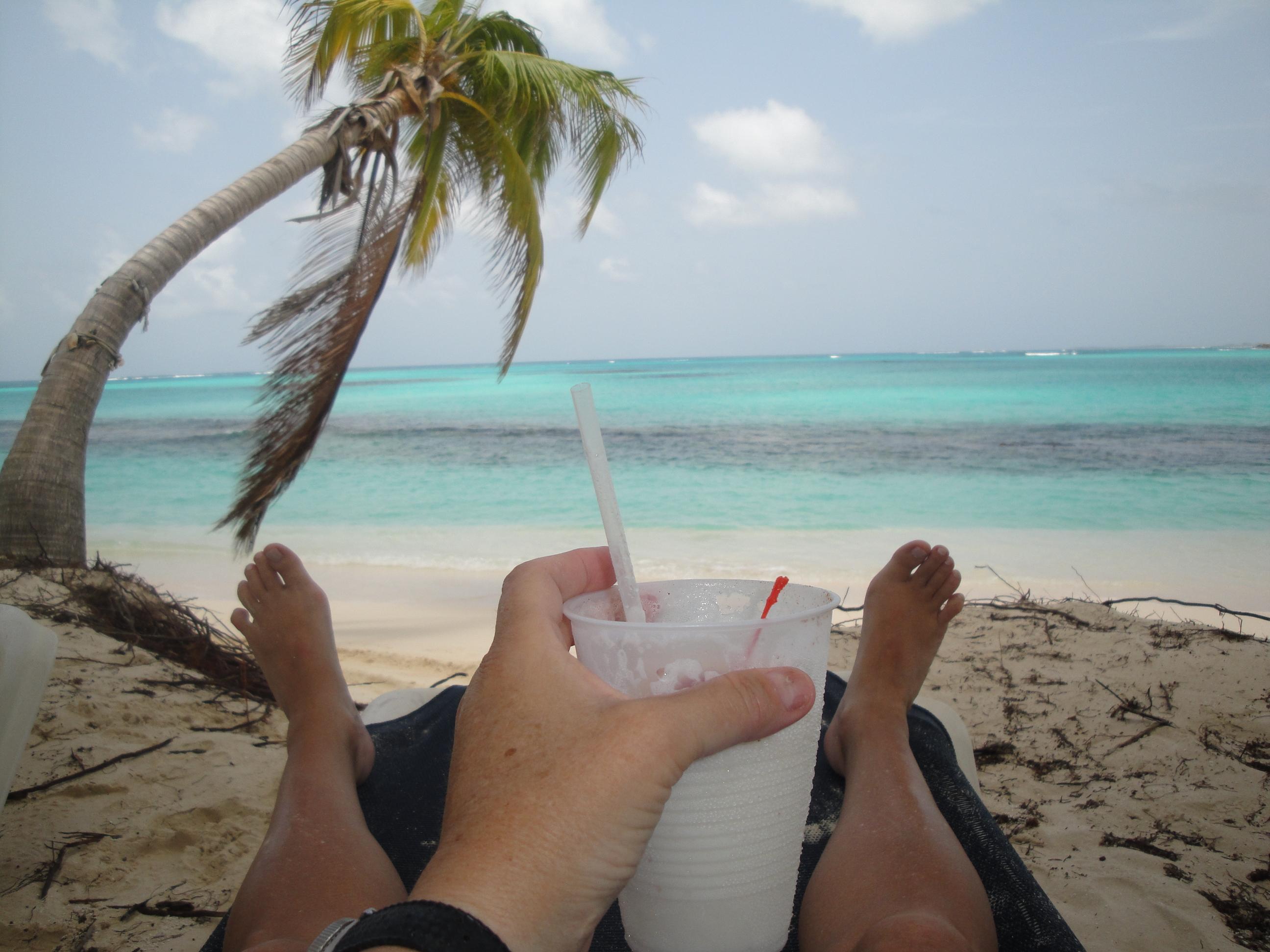 West Shoal Bay beach, Anguilla.