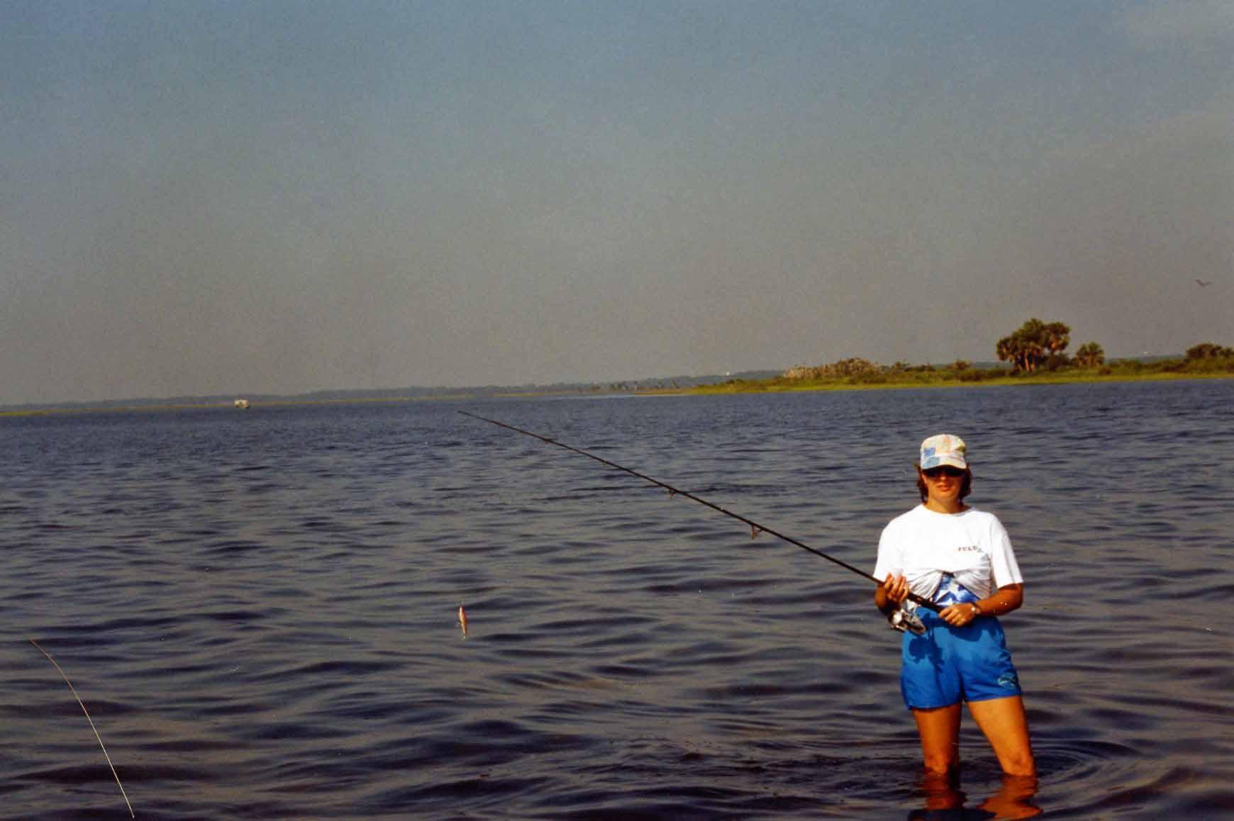 Lynn, oyster bar fishing off Shell Point, FL