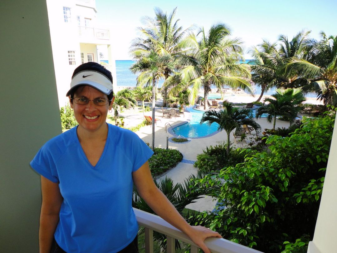 Our digs, Bermuda Beach, Ambergris Caye, Belize