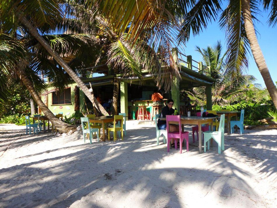Ak' Bol seaside grill, Ambergris Caye, Belize