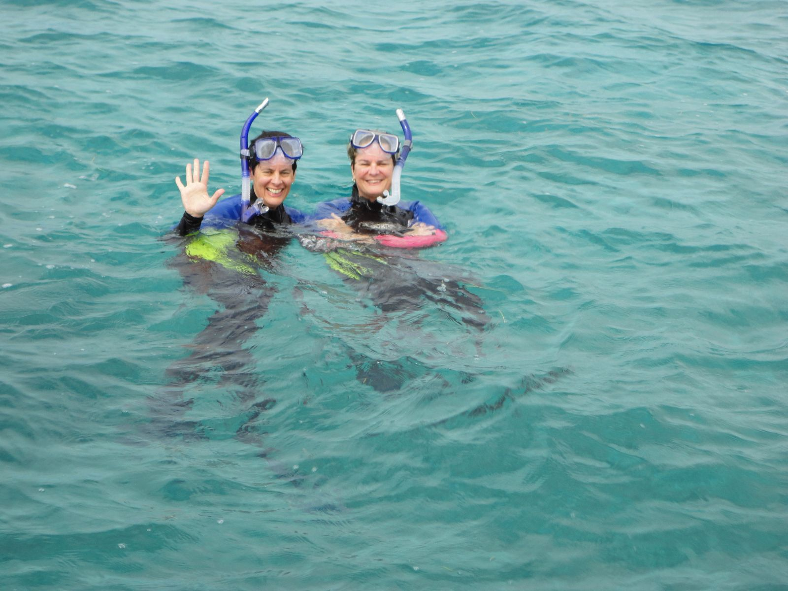 Snorkeling the reef off Ambergris Caye, Belize