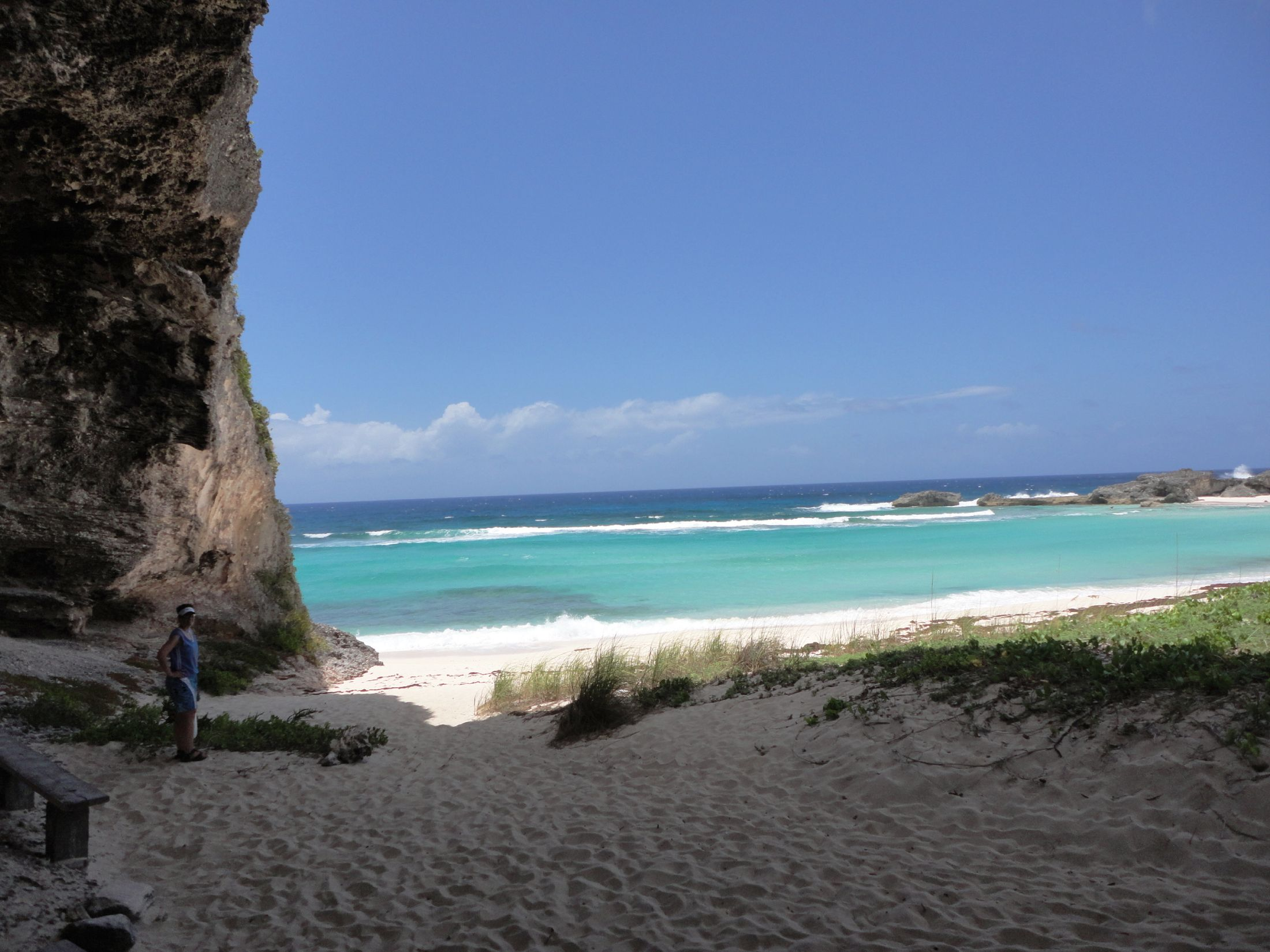 Bamberra Beach cavern, Middle Caicos