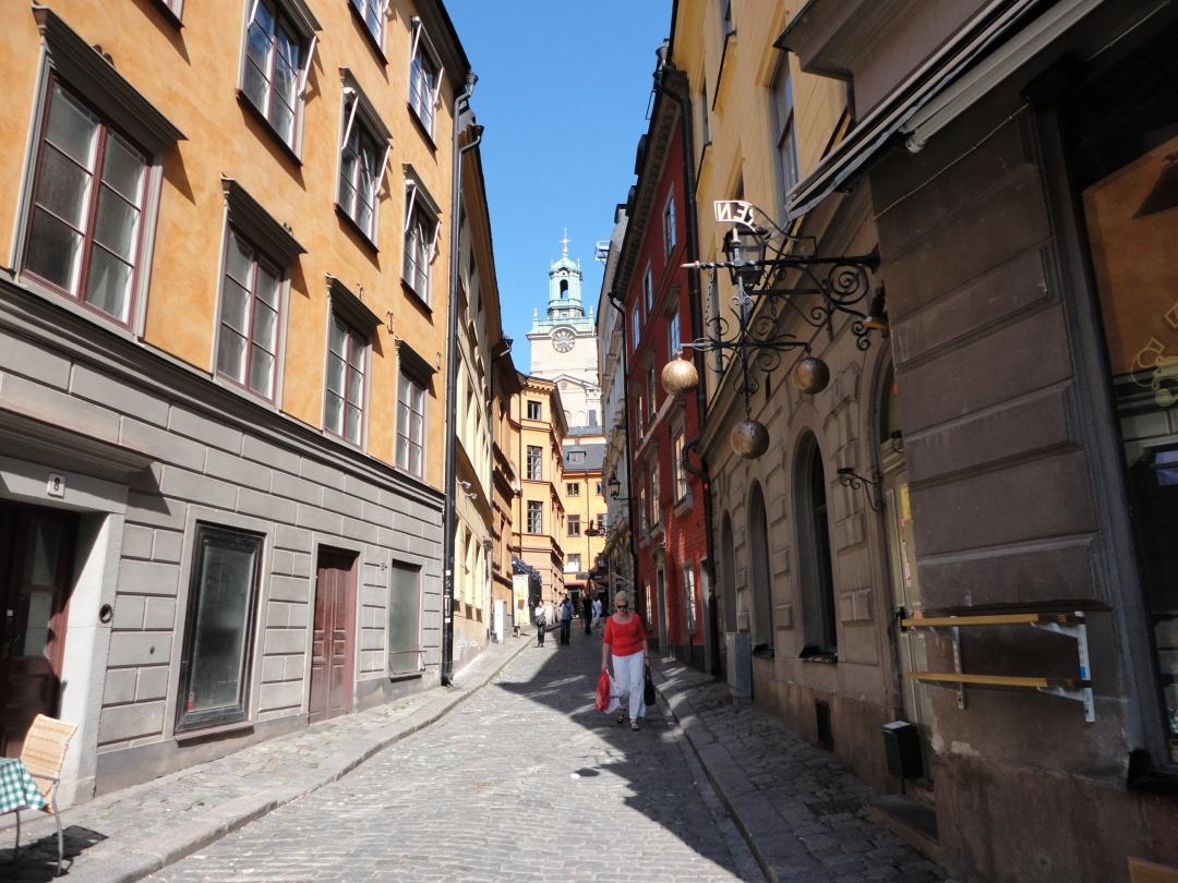 Gamla Stan, Stockholm street scene