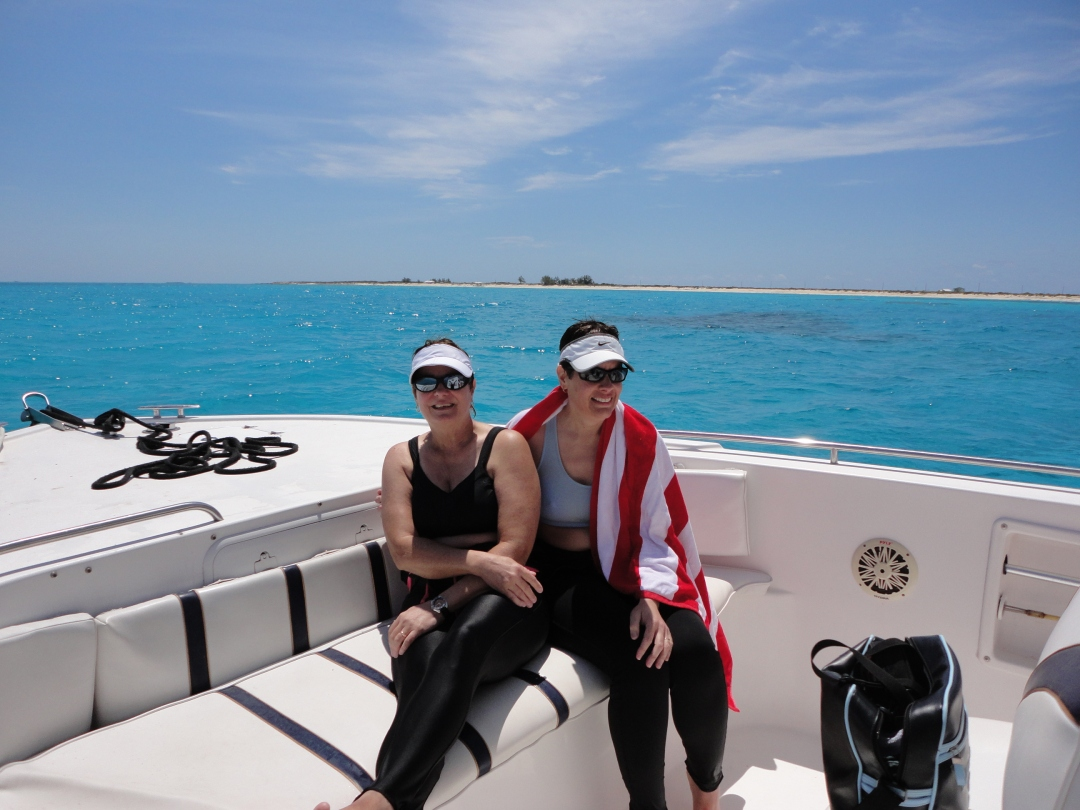 Snorkeling the reefs just offshore, Salt Cay