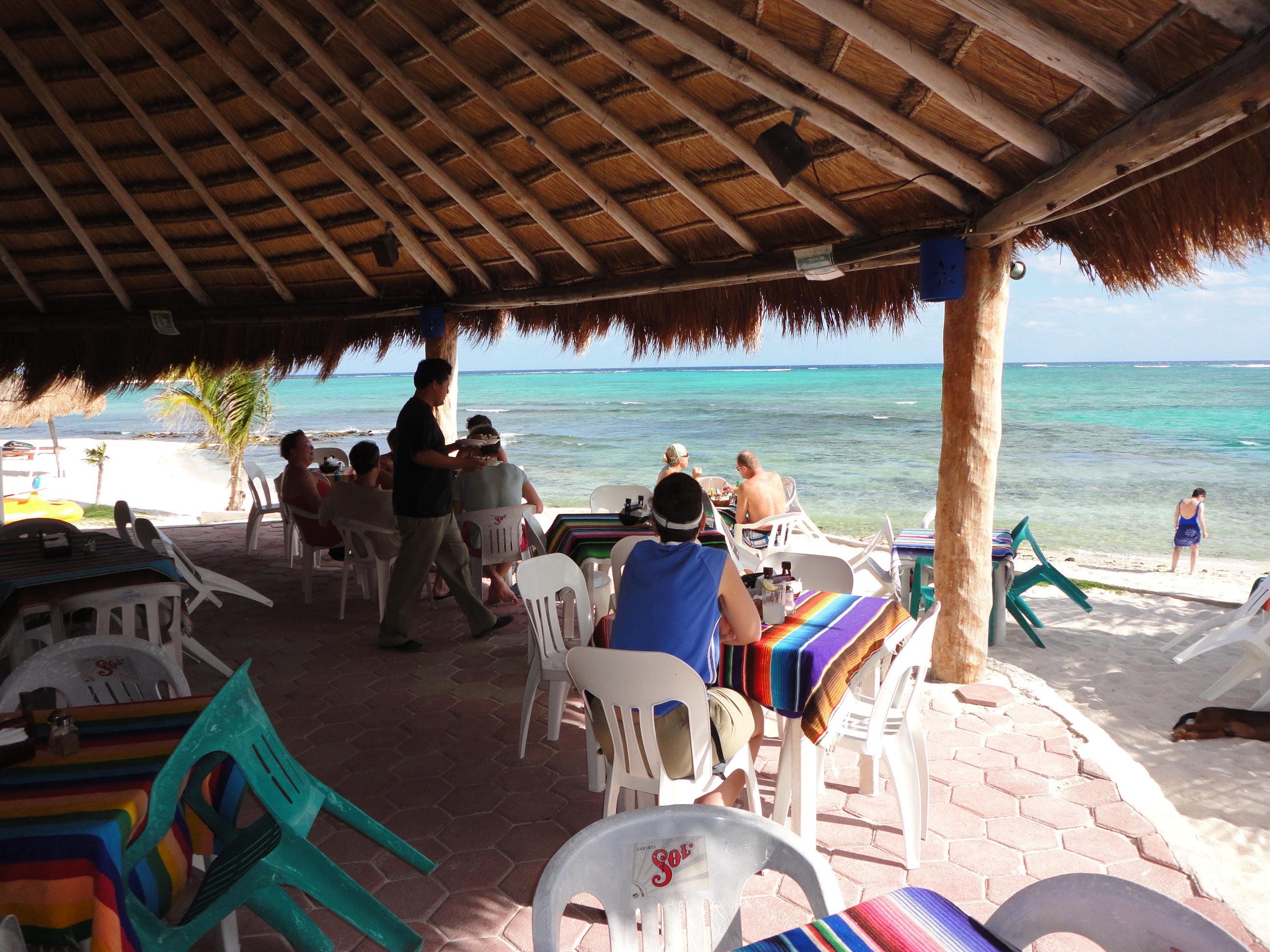 Casa Cenote restaurant, Tulum, MX