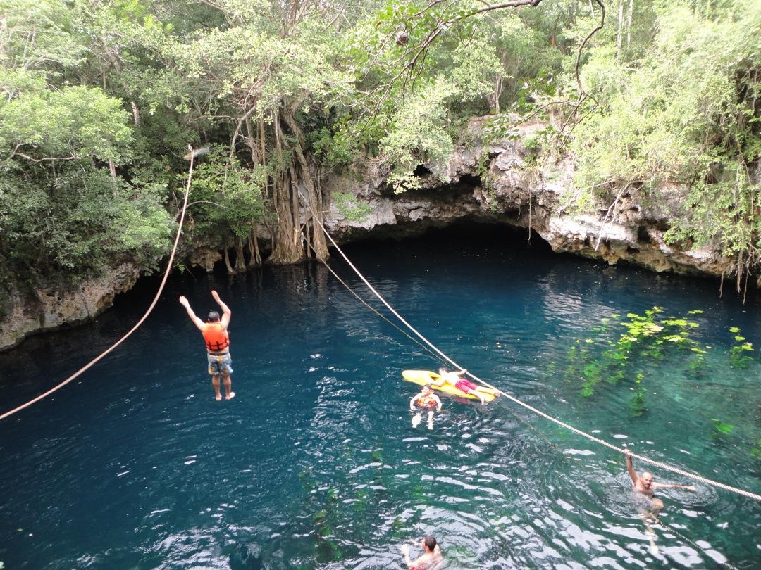 Cenote Lucerno Verde, near Tulum, MX