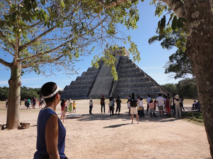 Pyramid of the Sun, Chichen Itza