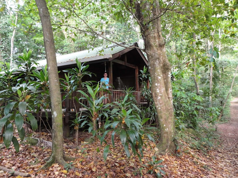 Trail-side cabin, Pico Bonito Lodge, Honduras.