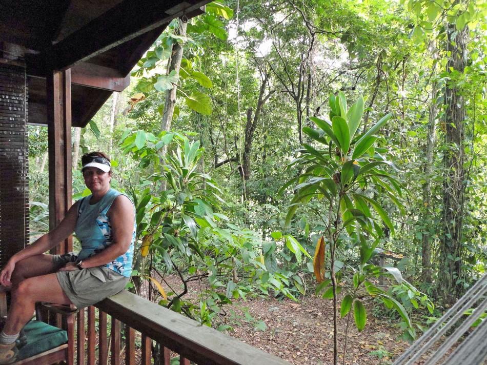 Cabin at Lodge at Pico Bonito, Honduras.