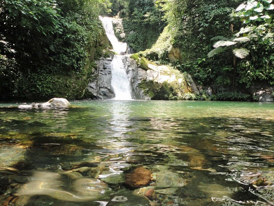 Unbelievable Falls, Pico Bonito refuge, Honduras.
