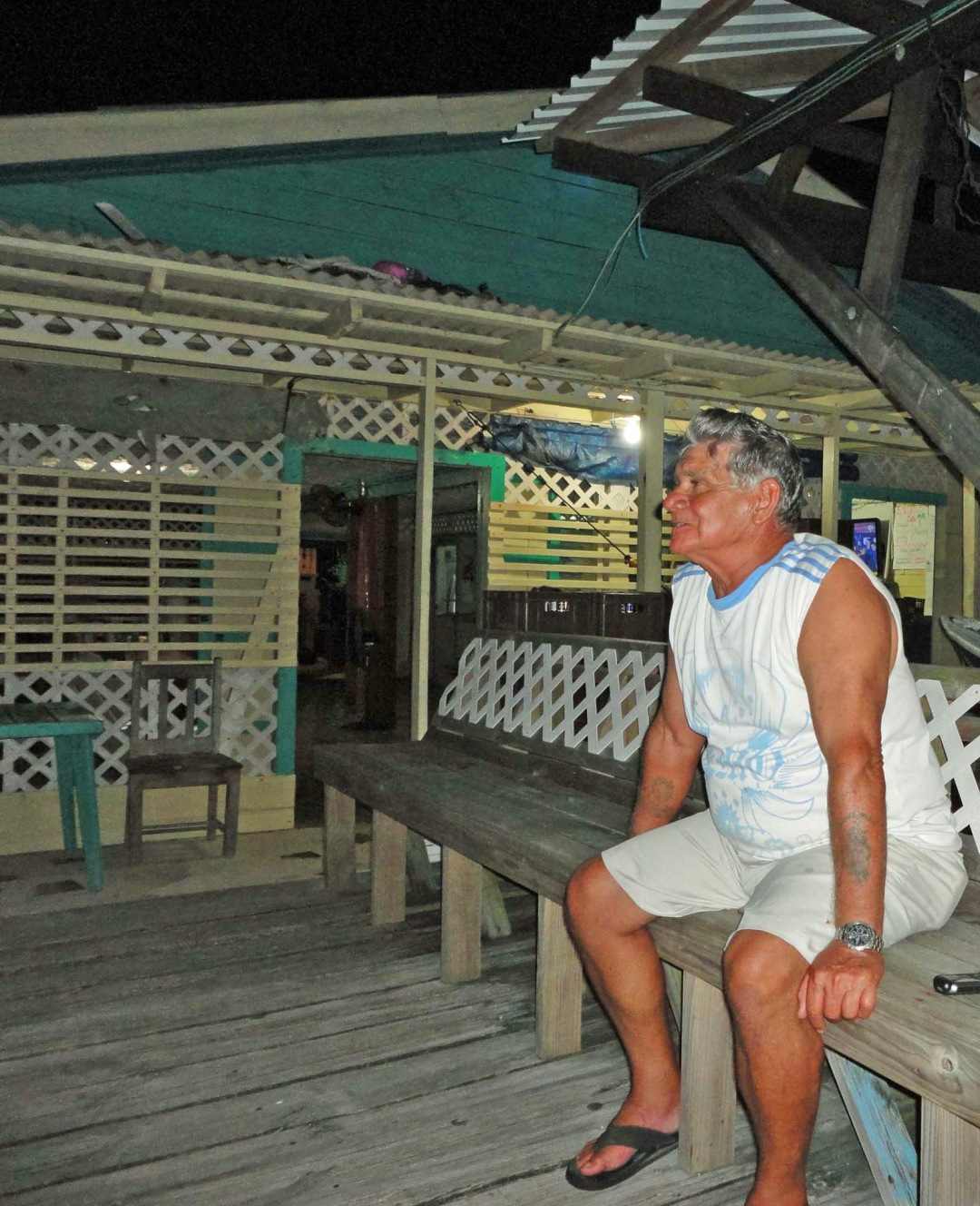 Herman, Pigeon Cay, Bay Islands, Honduras