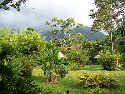 Pico Bonito Lodge property scene, Honduras