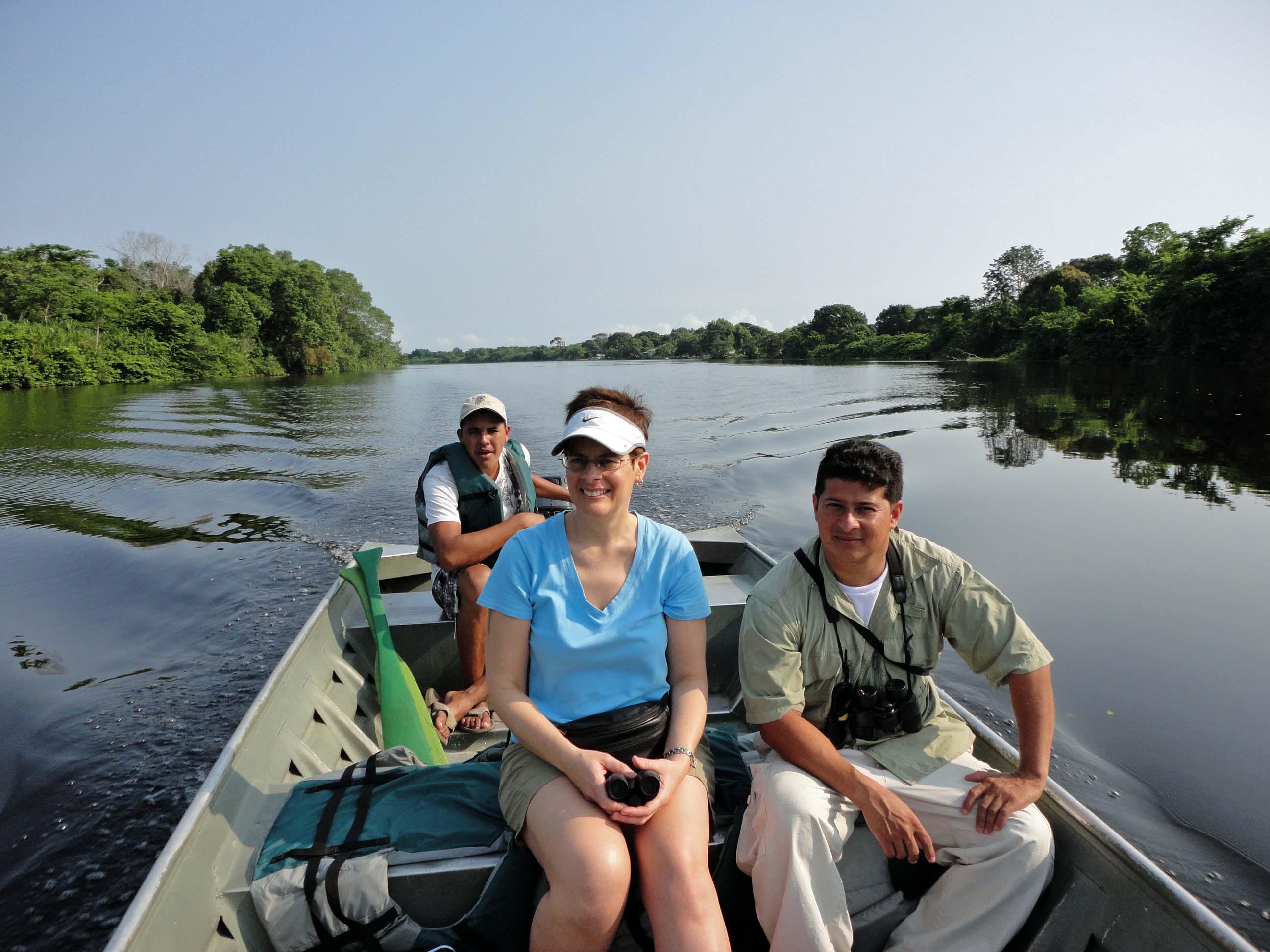 Rain forest river excursion, Cuero y Salado wildlife refuge.