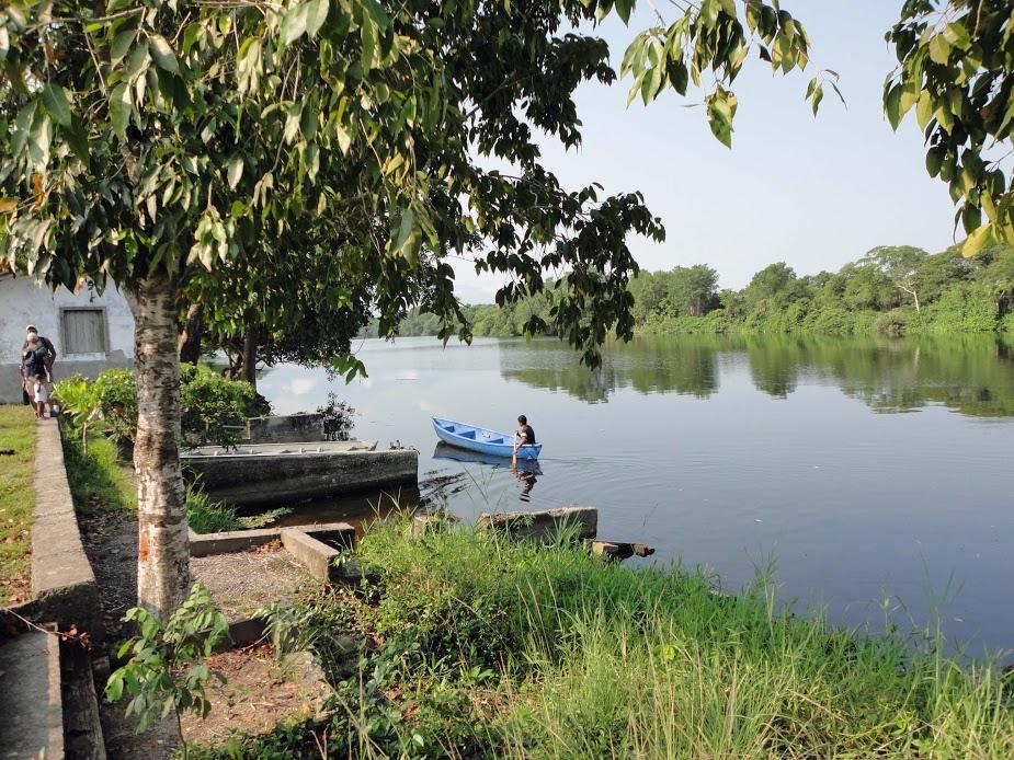 Lagoon, Cuero y Salado refuge, Honduras.