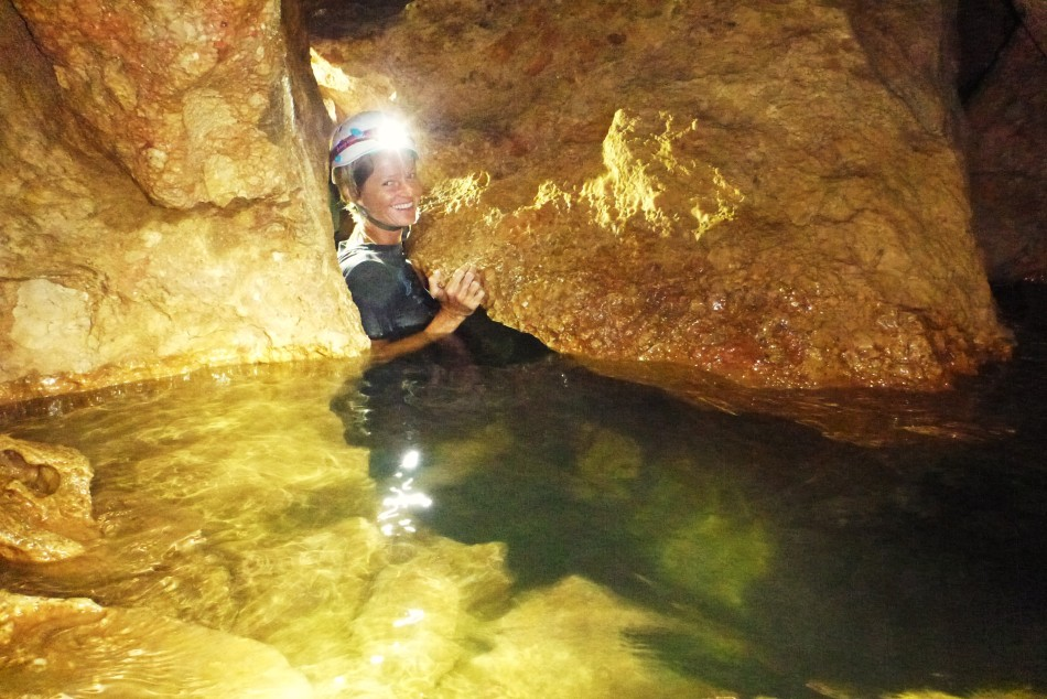 ATM cave explorer, Ignacio, Belize.