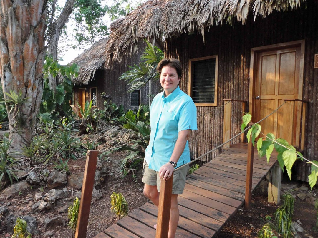 Lynn, cabana, Mariposa Jungle Lodge, Belize