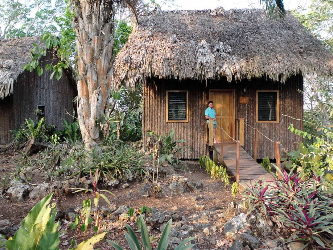 Our cabana, Mariposa Jungle Lodge, Ignacio, Belize