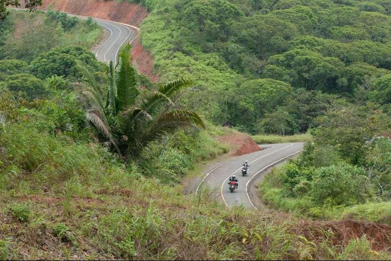 The road to Carti, Panama