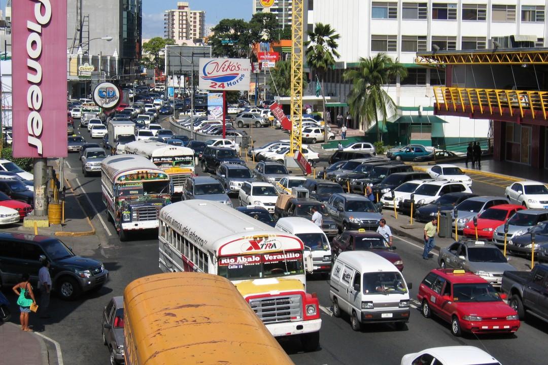 Panama City, Panama gridlock