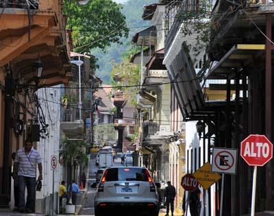 Panama City, Panama street scene
