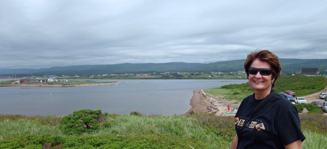 Margaree Harbor from the dunes, Cape Breton island.
