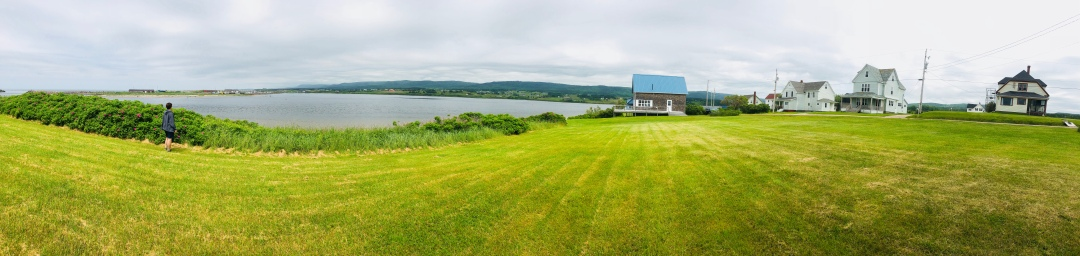 Margaree Harbor, near Belle Cote, Cape Breton island.