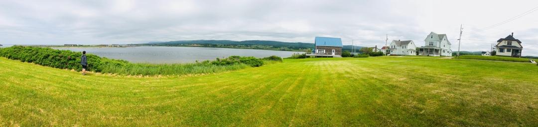 Margaree Harbor, near Belle Cote, Cape Breton island.