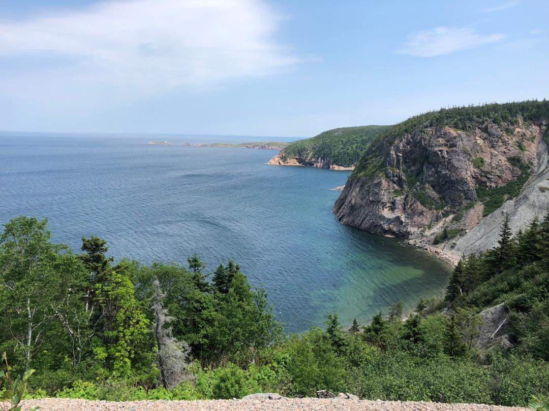 Cabot Trail view, Cape Breton island.