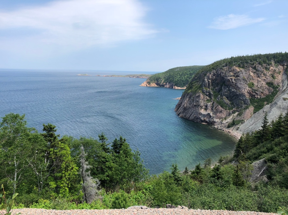 Cabot Trail view, Cape Breton island.