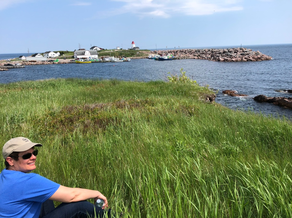Neil's Harbor, Cape Breton island.