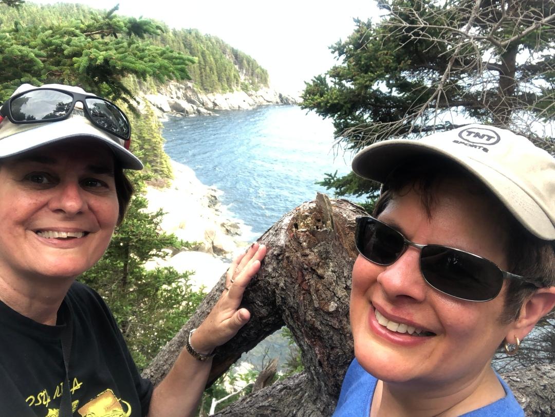 Middle Head trail, Ingonish, Cape Breton Highlands National Park.