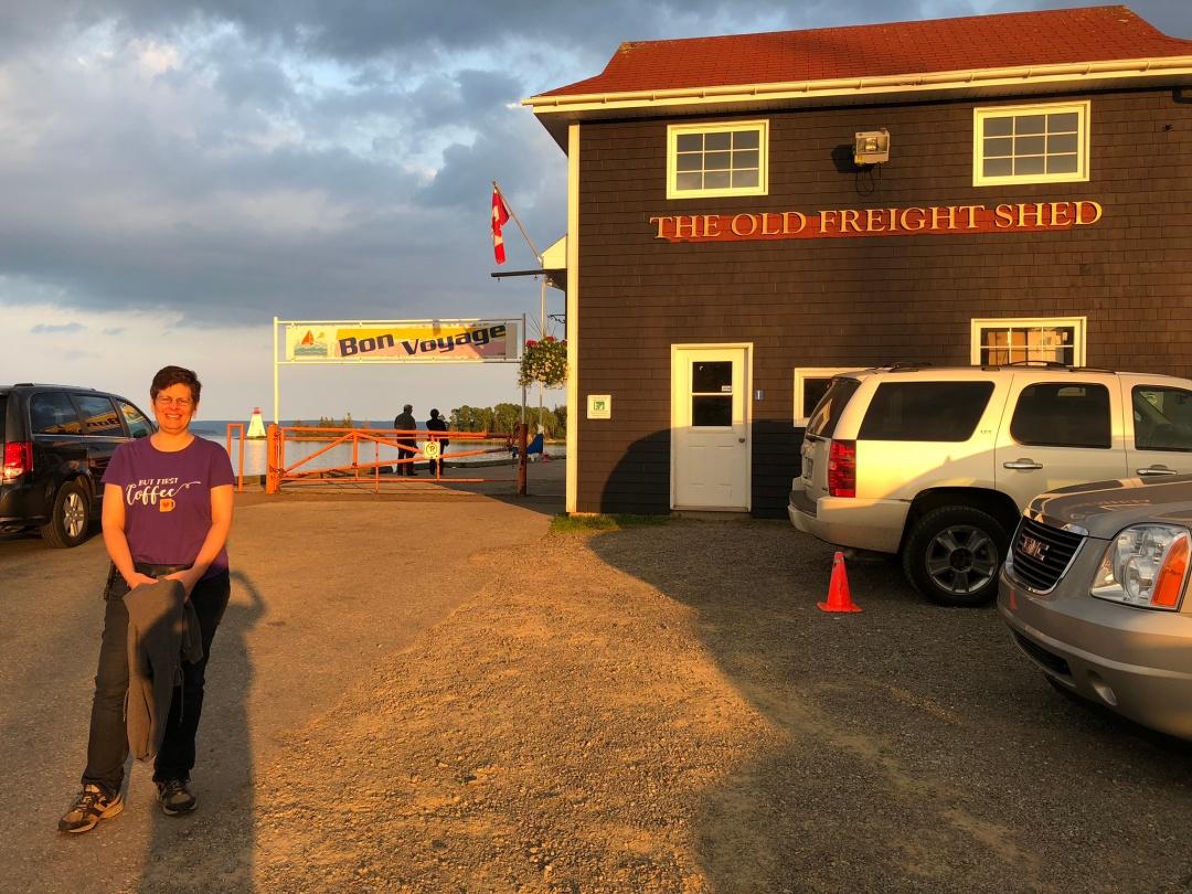 Baddeck Harbor, Cape Breton island.