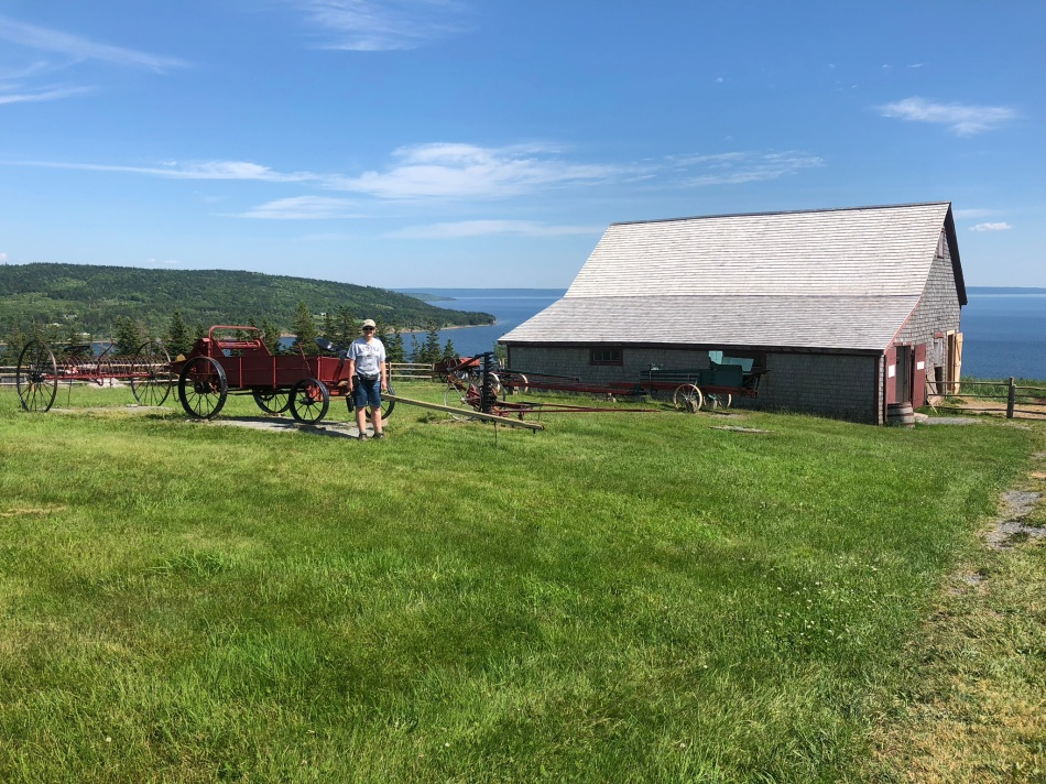 Highland Village Living Museum, Iona, Cape Breton island.